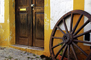 Carriage Photo Prints - Wagon Wheel Print by Carlos Caetano