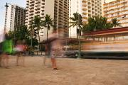 Intersection Posters - Waikiki Blur Poster by Ashlee Meyer