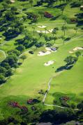 Manicured Prints - Wailea Gold and Emerald courses Print by Ron Dahlquist - Printscapes