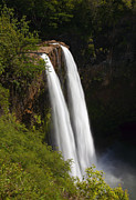 Falls Photos - Wailua Falls by Mike  Dawson