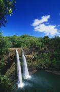Waterfalls Rivers And Lakes - Wailua Falls by William Waterfall - Printscapes