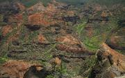 Waimea Valley Prints - Waimea Canyon - Kauai Print by Peter French - Printscapes