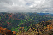 Waimea Canyon Weather Print by Lynn Bauer