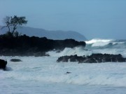 Waimea Bay Prints - Waimea sun wave Print by Karen Wiles