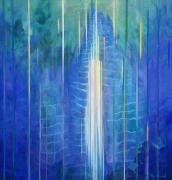 Elemental Paintings - Waimoku Falls by Fay Biegun - Printscapes