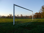 Goalpost Framed Prints - Waiting for the Goalie Framed Print by Richard Reeve