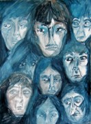 Judgment Paintings - Waiting for the Jury by Judith Redman