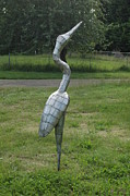 Geese Sculptures - Waiting For The Moment by Ben Dye