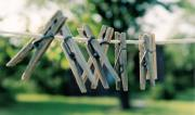 Clothes Pins Photos - Waiting for Work by Lauri Novak