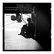 Photoport Art - Waiting In The Shadow  #insta_pick_bw by Wilder Biral