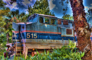 Trains Photos - Waiting In The Woods by Joetta West