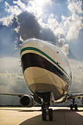 737 Prints - Waiting Jet Print by Ricky Barnard
