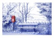 Post Box Prints - Waiting  Print by Mal Bray