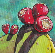 Pear Paintings - Waiting to be Picked by Sandy Tracey