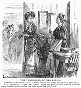 Servant Prints - Waitresses, 1873 Print by Granger