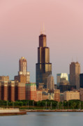 Willis Tower Art - Wake Up Chicago by Sebastian Musial