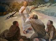 Waking The Apostles Print by Larry Christensen