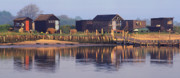 Blyth Prints - Walberswick Reflections Print by John Perriment