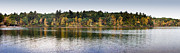 Americana Landscape Prints - Walden Pond Panorama I Print by Thomas Marchessault