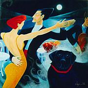 Power Paintings - Waldo Dreams of Tango by Angela Treat Lyon