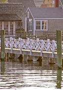 Nantucket Photos - Walk Here by Leslie Reitman