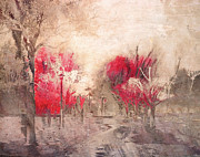 Impressionistic Digital Art - Walk Me Into Yesterday by Tara Turner