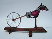 Assemblage Sculpture Originals - Walk On Water by Jim Casey