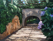 Arbor Paintings - Walk With Me by Suzanne Schaefer