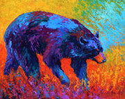 Wild Animals Paintings - Walkabout by Marion Rose