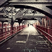 Instagroove Art - Walked Over The Williamsburg Bridge by Vivienne Gucwa