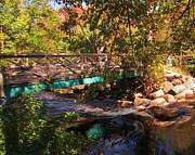 John Malone - Walking Bridge in Autumn