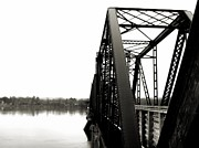 Jonathan Lagace Framed Prints - Walking Bridge Framed Print by Jonathan Lagace