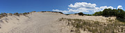 Hamptons Photos - Walking Dunes Panorama by Samuel Kessler