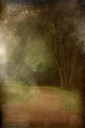 Layered Prints - Walking Into A Dream - Holmdel Park Print by Angie McKenzie