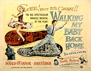 My Baby Posters - Walking My Baby Back Home, Janet Leigh Poster by Everett