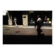Photoport Art - Walking On The Street by Wilder Biral