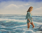 Marcel Quesnel - Walking the Surf