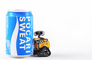Sweat Prints - Wall-E with POCARI SWEAT Print by Donny Indra Purnama Jati