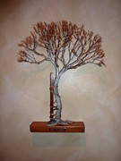Still Life Sculptures - wall mount Andry Tree by Douglas Kiburz