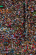 Walls Art - Wall of gum by Garry Gay