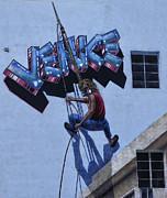 Chuck Kuhn - Wall Painting