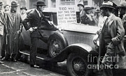 Great Depression Prints - Wall Street Stock Market Crash, 1929 Print by Photo Researchers