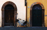 Lucca Metal Prints - Walled City Of Lucca Metal Print by Bob Christopher