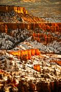 Southern Utah Prints - Walls of Wonder II Print by Irene Abdou