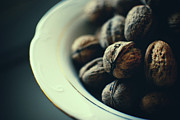 Food And Drink Art - Walnuts In Bowl by Erik T Witsoe