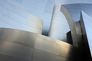 Gehry Framed Prints - Walt Disney Concert Hall 1 Framed Print by Bob Christopher