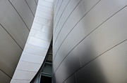 Iconic Design Prints - Walt Disney Concert Hall 10 Print by Bob Christopher