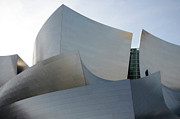 Iconic Design Prints - Walt Disney Concert Hall 11 Print by Bob Christopher