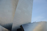 Iconic Design Prints - Walt Disney Concert Hall 13 Print by Bob Christopher