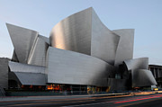Iconic Design Prints - Walt Disney Concert Hall 17 Print by Bob Christopher